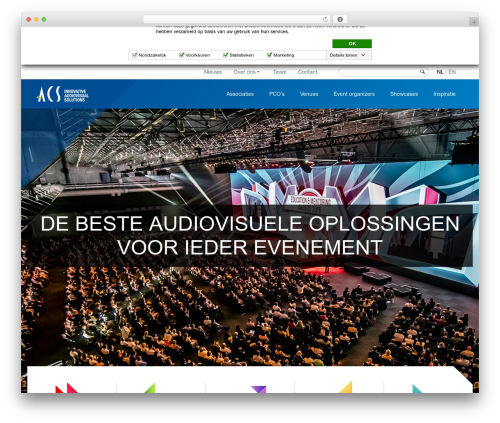 ACS WordPress theme - acsaudiovisual.com/nl