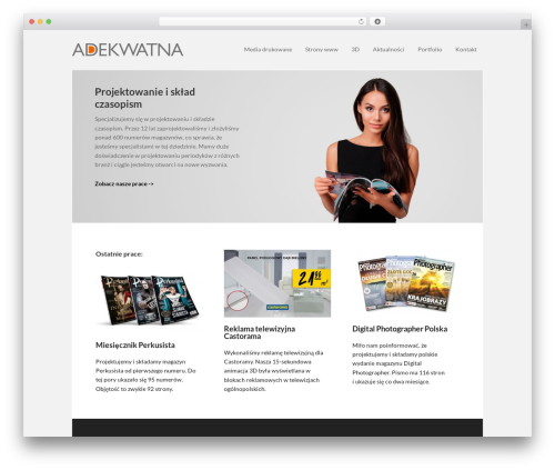 Executive Pro Theme WordPress theme - adekwatna.pl