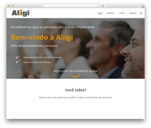 Jupiter best WordPress theme - aliigi.com.br