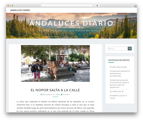 Nisarg WordPress template free - andalucesdiario.es