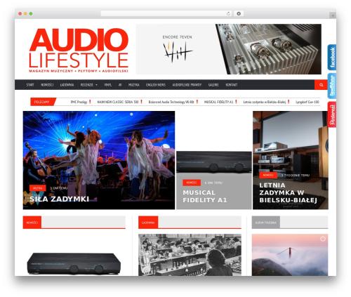 Novomag Premium Theme top WordPress theme - audiolifestyle.pl