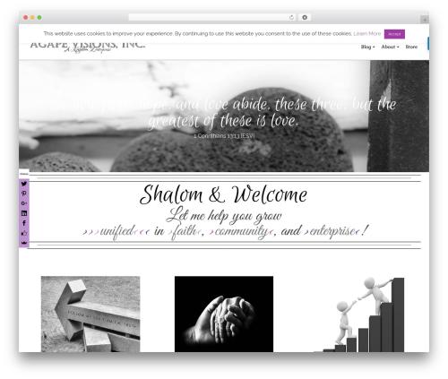 Pinnacle theme WordPress free - agapevisionsinc.com