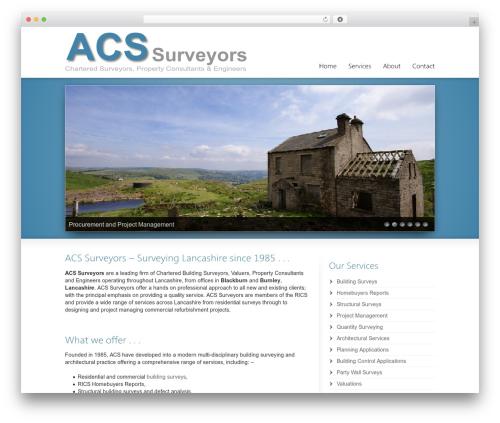 Striking MultiFlex & Ecommerce Responsive WordPress Theme business WordPress theme - acs-surveyors.com