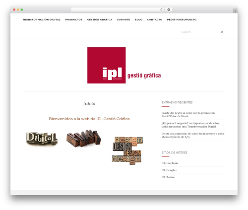 Template WordPress Activello - iplgrafica.com