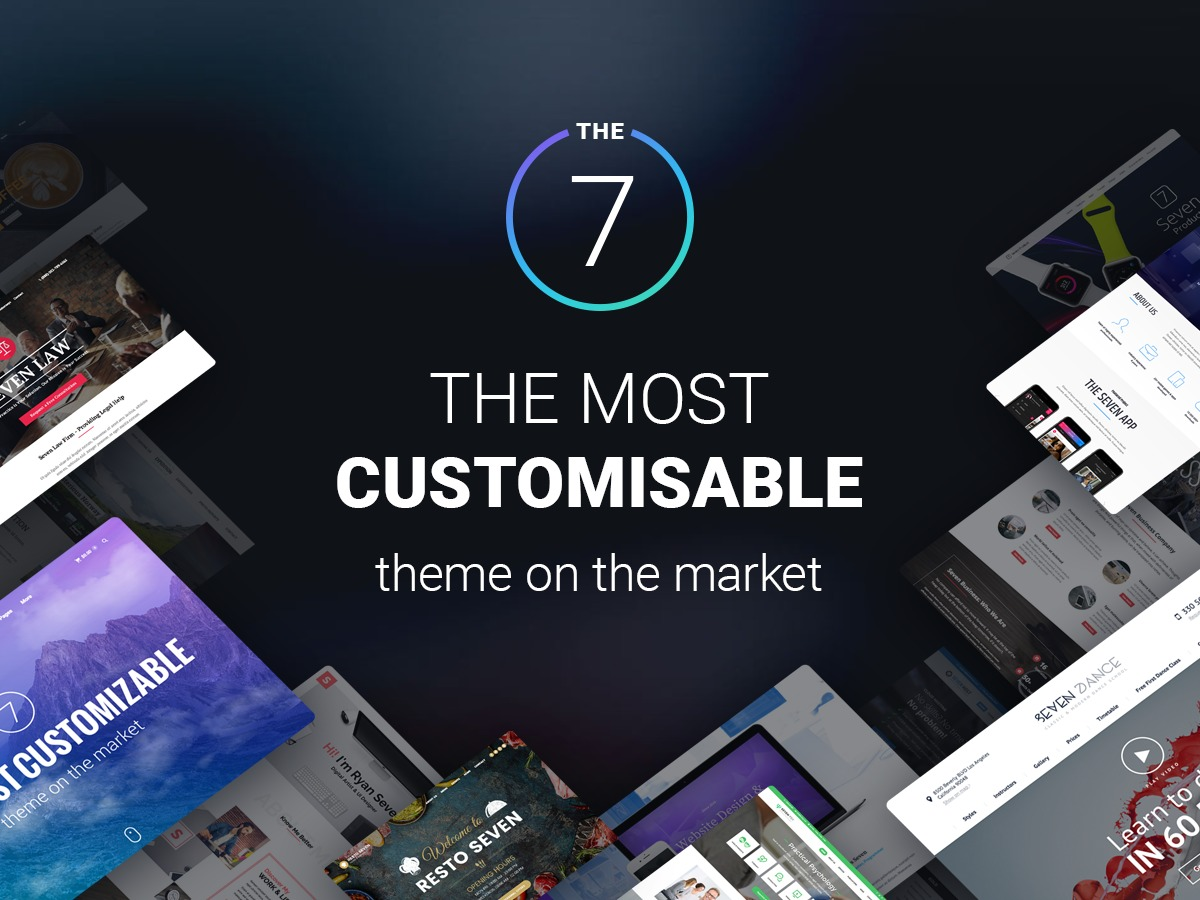 The7 WordPress shopping theme