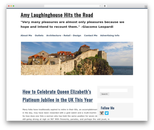 WordPress theme Kvarken - amylaughinghouse.com