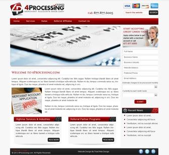 4 Processing WordPress theme