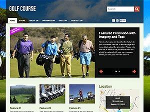 Best WordPress theme Golf Course