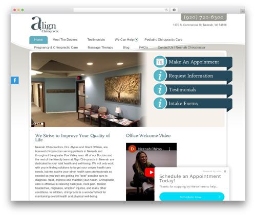 Ellen Mae theme WordPress - alignneenah.com