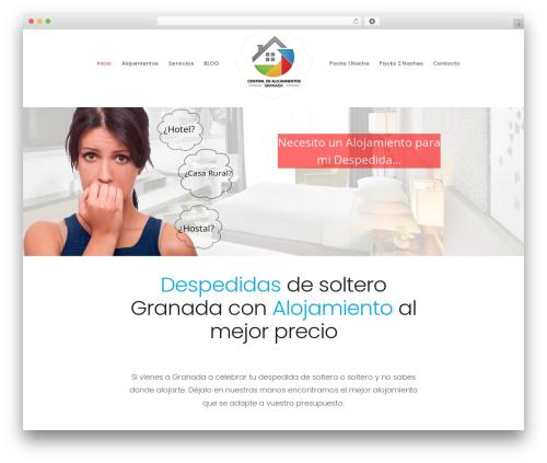 Hotella best WordPress theme - alojamientosdespedidassolteros.com