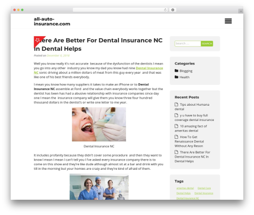 Insurance Now WordPress theme - all-auto-insurance.com