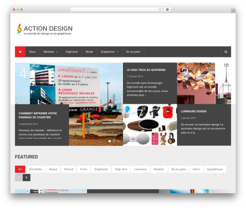 NewsTimes by MyThemeShop template WordPress - actiondesign.info