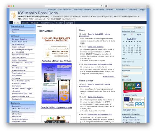 pasw2013 WordPress page template - ismanliorossidoria.it