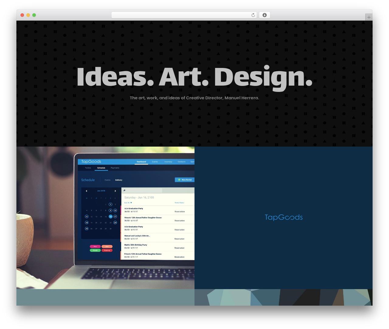 WordPress website template Movedo - allocreative.com