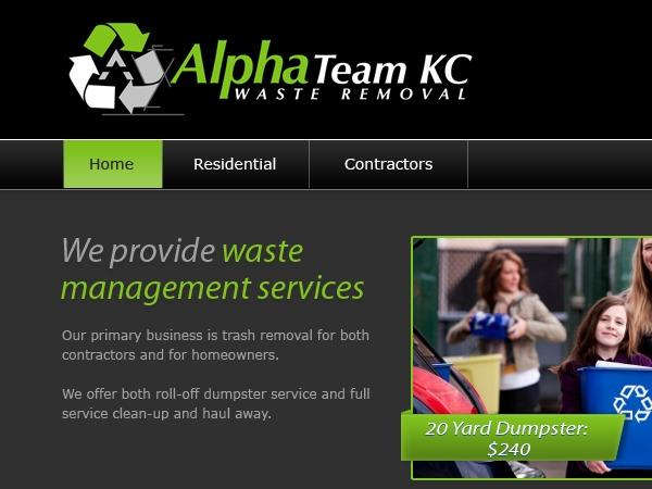 Alpha_Team_KC WordPress page template