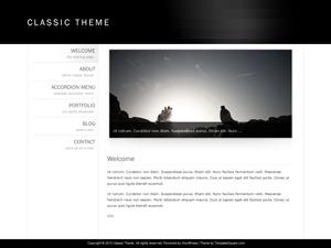 Classic Theme 3 WordPress theme