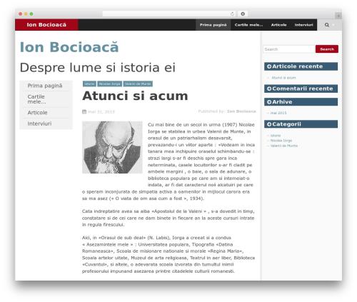 WordPress template SmartAdapt - ion.bocioaca.com