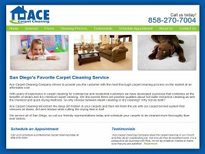 ACE Carpet Carpet WP template