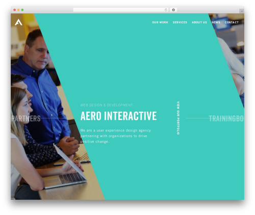 TK top WordPress theme - aerointeractive.com