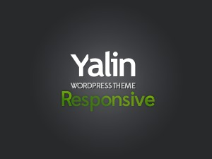 WordPress theme Yalin WP