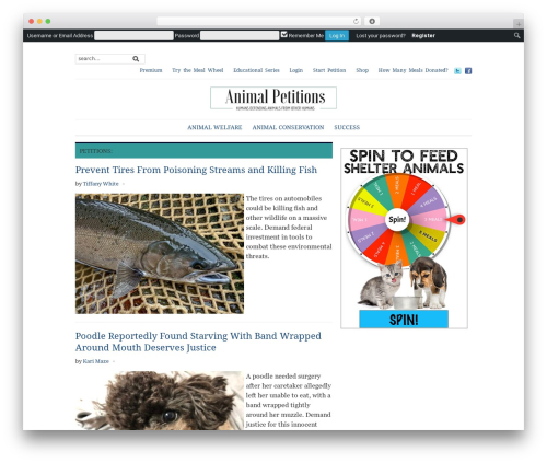 Yamidoo Magazine best WordPress template - animalpetitions.org