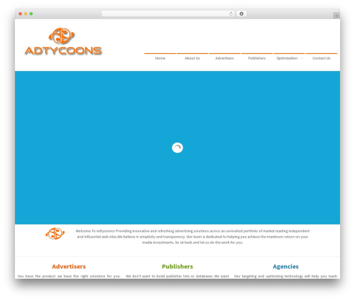 Best WordPress theme Second touch - adtycoons.com