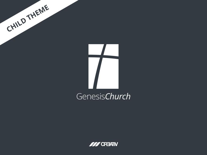 GenesisChurch Child Theme best WordPress theme