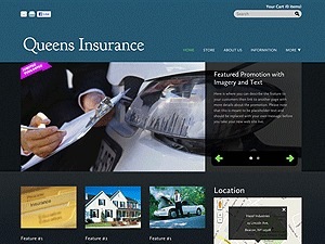 Insurance Company company WordPress theme