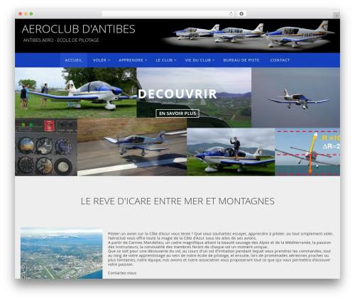 Nirvana theme WordPress free - aeroclub-antibes.fr