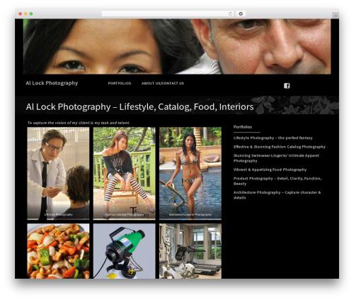 Premium Photography theme free download - allockphoto.com