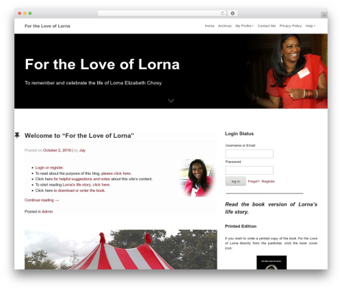 WordPress website template WP Bootstrap Starter - ilovelorna.info