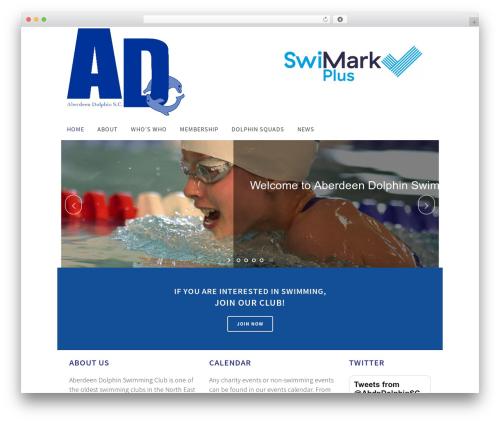 Bridge WordPress page template - aberdeendolphin.co.uk