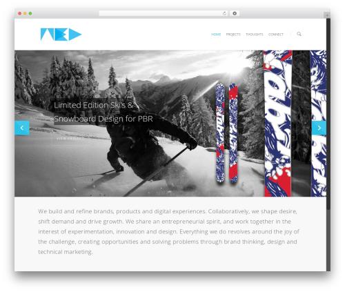 Salient WordPress theme - adned.co