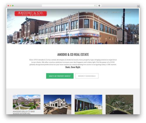 Solus Progression best real estate website - amodio.com