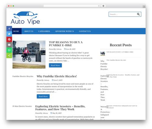 Stucco free WP theme - autovipe.com