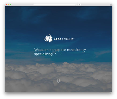 Theme WordPress Covercase - aeroconsult.dk