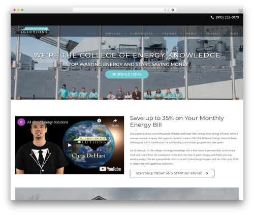 WordPress website template Archi - allaboutenergysolutions.com