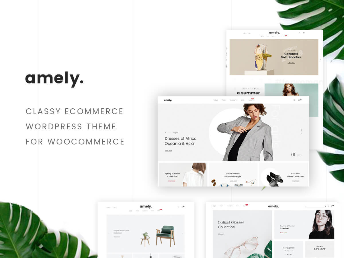 Amely WordPress store theme