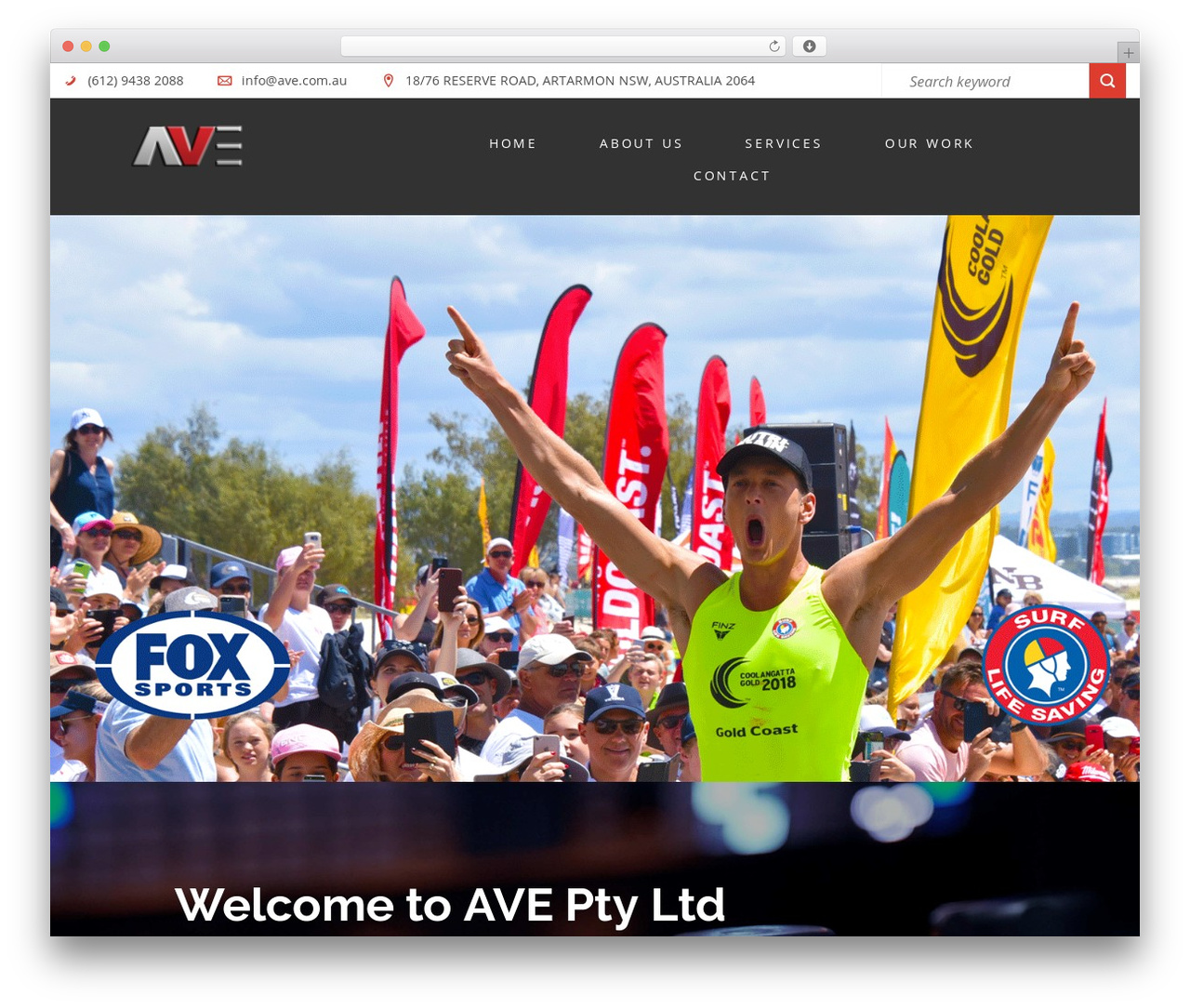 AVE top WordPress theme - ave.com.au