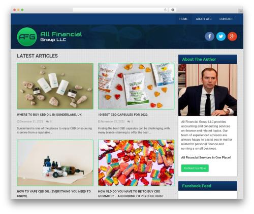 Best by MyThemeShop WordPress shop theme - allfinancialgroupllc.com