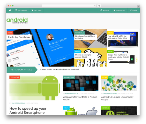Codilight template WordPress - android.pk