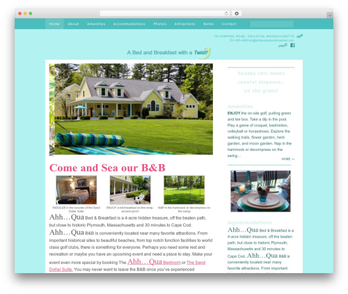 Fabric Child Theme WordPress theme - ahhquabedandbreakfast.com