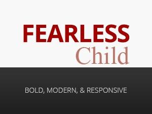 Fearless Child Theme WordPress theme