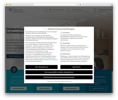 Medicare theme WordPress - internisten-erfurt.de