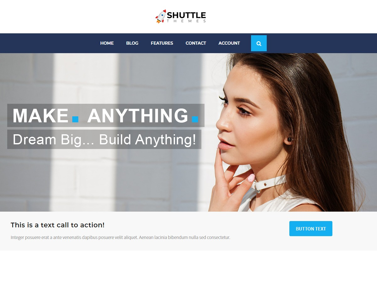 Shuttle allBusiness WordPress shopping theme