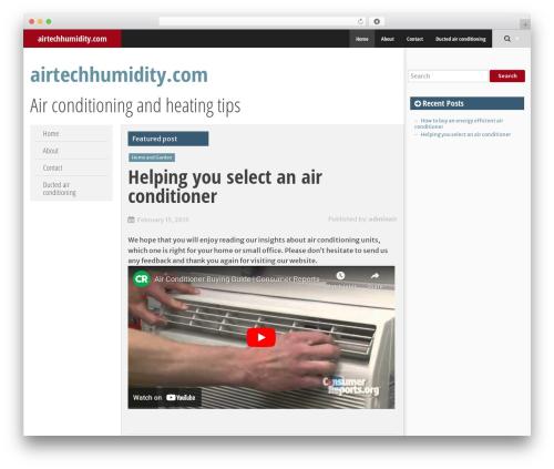 SmartAdapt WordPress theme free download - airtechhumidity.com