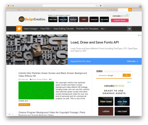 Theme WordPress Sahifa (shared on wplocker.com) - alldesigncreative.com