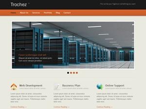 Trochez WordPress portfolio template