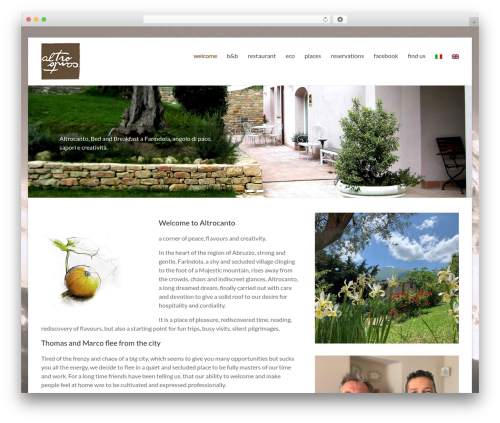 WordPress sitepress-multilingual-cms plugin - altrocanto.it