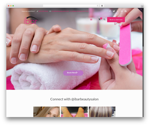 WordPress appointment-booking plugin - ibarbeautysalon.com